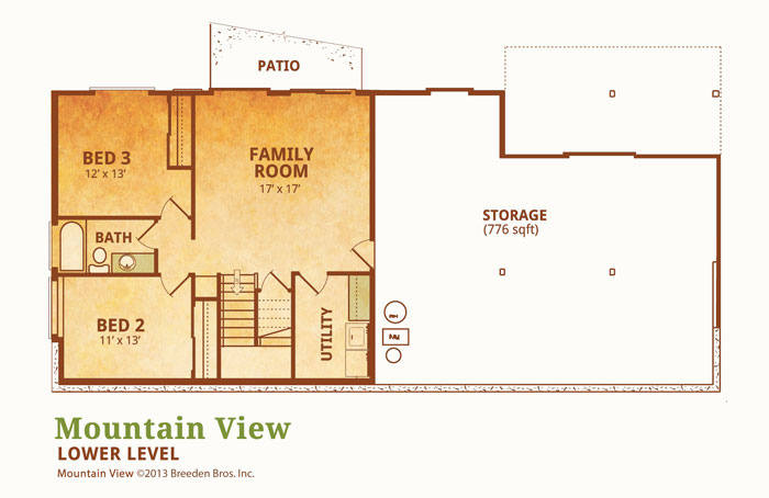 Mountain View Breeden Homes