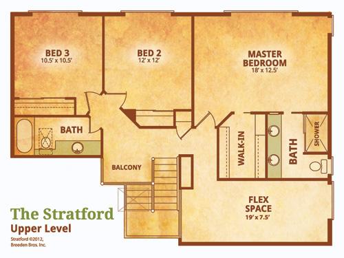 Stratford Homes Floor Plans: Breeden Homes