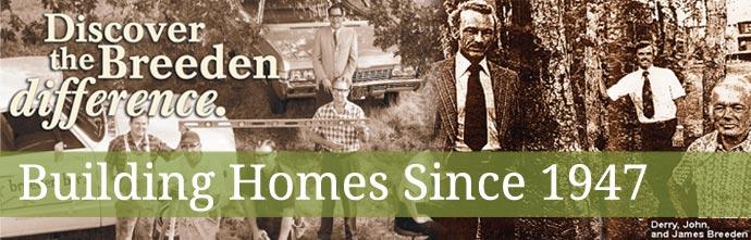 About Breeden Homes Builder Eugene Oregon